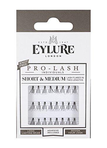 Katy Mini Set (Eylure Individual Semi Permanent Lashes Black Short/ Medium and Long Length Mini Pack)