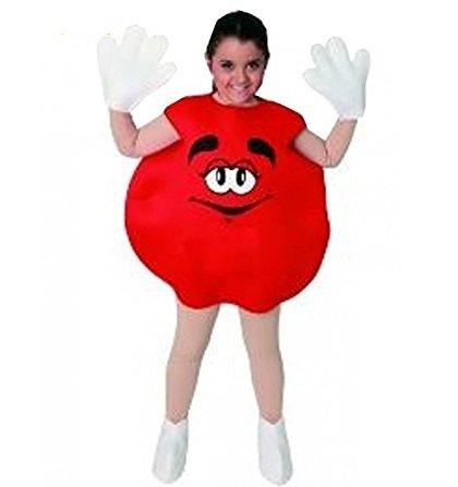 Imagen de disfraz inf. caramelo m&m rojo t. 7 9