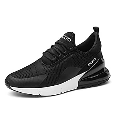 ada735adae01 AIRAVATA Femme Mode Chaussures de Sports Course Fitness Gym athlétique Multisports  Outdoor Casual Baskets