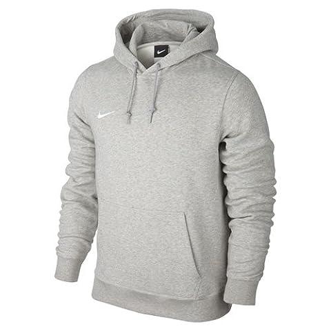 Nike - Bekleidung Yth Team Club Hoody - garçon - Gris (Grey Heather/football White) - XS (122-128)
