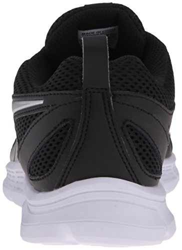 Reebok Supreme Run MT Cuir Chaussure de Course Black-Silver Met-Wht