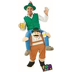Fun Shack Hombres o Damas Disfraz Adulto Bávaro Hombre de Cerveza Talla  única e42d5fcb23ba