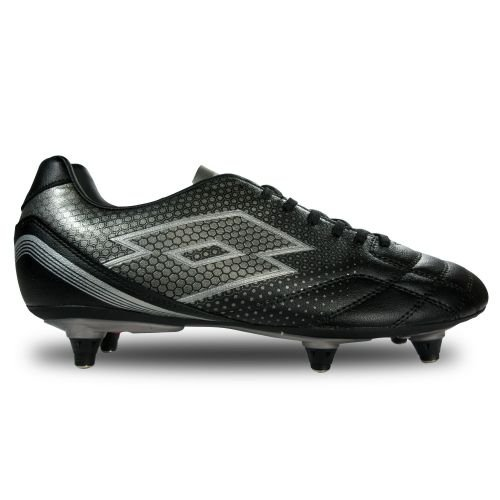 lotto-spider-700-xiii-sg6-chaussures-de-football-homme-multicolore-negro-gris-blk-tit-gry-44-eu