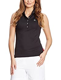 XFORE Damen Golf Funktions Poloshirt ohne Arm, Napoli, in Schwarz a091d8583c