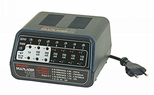Graupner 6455 - Zubehör - Multilader 7E Nimh-delta-peak