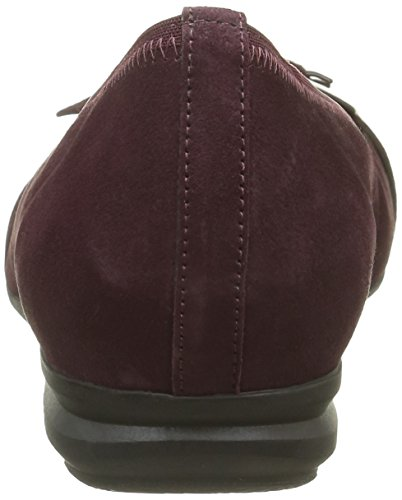 Gabor Damen Comfort Sport Geschlossene Ballerinas Rot (new merlot 28)