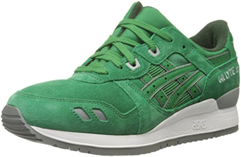 Zapatillas de running retro GEL Lyte III, verde / verde, 10.5 B (M) US