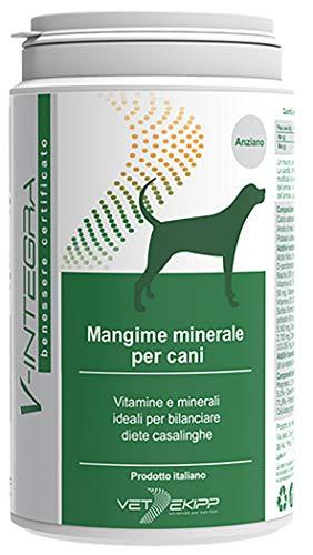 V-Integra Mangime Minerale per Cani Anziani - 200 Gr