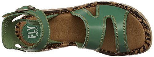 Fly London - Tily722fly, Sandali Donna Verde (mint 008)