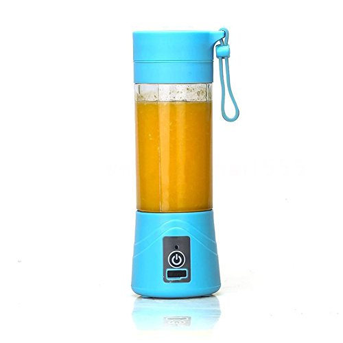 xMxDESiZ 1Pc Portable 380ml Electric Juice Blender, used for sale  Delivered anywhere in UK