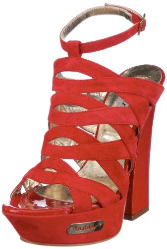 Byblos Gaga Cxa7824, Sandali Donna Rosso (Rot (Rosso))