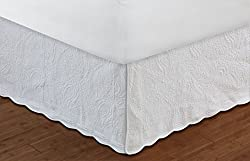 Greenland Home 18-Inch Paisley Bed Skirt, Full