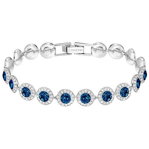 Swarovski Damen-Armreifen Edelstahl Kristall 5480484