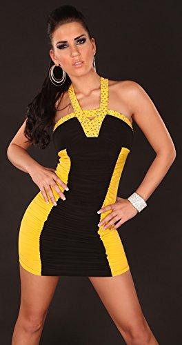 Sexy Damen MiniKleid, PartyKleid zum Ausgehen, mit Pailletten ...