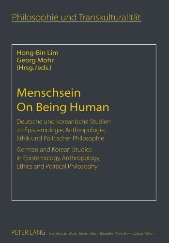 Menschsein. On Being Human: Deutsche und koreanische Studien zu Epistemologie, Anthropologie, Ethik und Politischer Philosophie. German and Korean ... (German and English Edition) (2011-02-24) par unknown