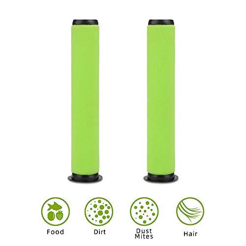 E-More 2er-Pack abwaschbarer Schmutzbehälter-Stickfilter für Gtech AirRam MK2 und Air Ram MK2 K9 Akku-Staubsauger