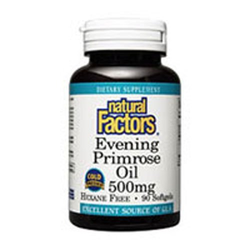 Natural Factors OmegaFactors Ultra Prim Evening Primrose Oil 500mg 180 sgels