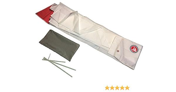 Ventoz Sunfish Segel 7.7 m2 ROT-WEISS-BLAU