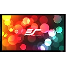 Elite Screens OMS120H2/de Dual Mobile Jard/ín Lienzo Yard Master 2/Dual 266/Outdoor Projection Screen Negro