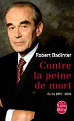 Contre la peine de mort de Robert Badinter