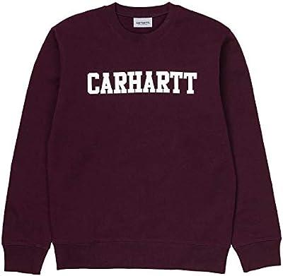 Carhartt Sudadera para Hombre Burdeos I024668MRLT