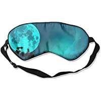 Blue Moon Cool Pattern Sleep Eyes Masks - Comfortable Sleeping Mask Eye Cover For Travelling Night Noon Nap Mediation... preisvergleich bei billige-tabletten.eu