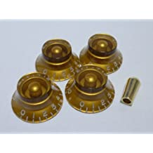 (MADE IN JAPAN)High Quality Bell Knob,Embossed,Gold,inch,Set