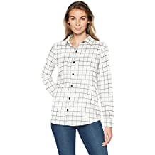 detailed look 186fe 561a0 Amazon.it: camicie di flanella donna - Bianco