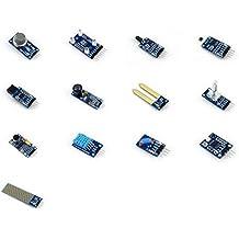Venel Electronic Component 13-in-1 Arduino Sensor Module Kit / Different Sensors Pack