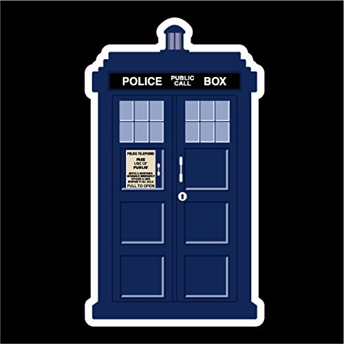 Doctor Who Tardis Vinyl Decal Sticker|Cars Trucks Vans Walls Laptops Cups|Full Color|5.5 X 3 In|KCD774