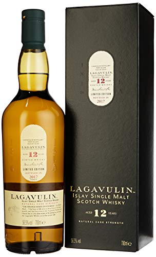 Lagavulin 12 Years Old Cask Strength Limited Edition mit Geschenkverpackung Whisky (1 x 0.7 l)