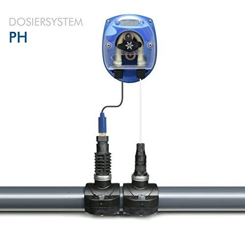 GT SEKO PH Pool DYNAMIK - Automatische Dosieranlage für Schwimmbäder (Plus/Minus) mit komplettem Zubehör mit 1 x Sauglanze DIN61 x 480 mm für 25 Liter Kanister