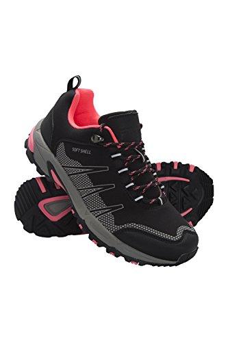Mountain Warehouse Annapurna Womens Softshell Running Shoes Nero