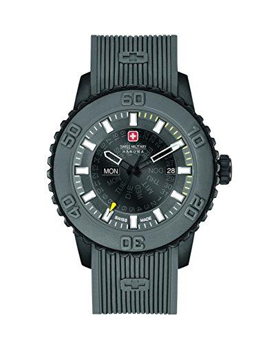 Swiss Military Herren-Armbanduhr Analog Quarz 6-4281.27.007.30