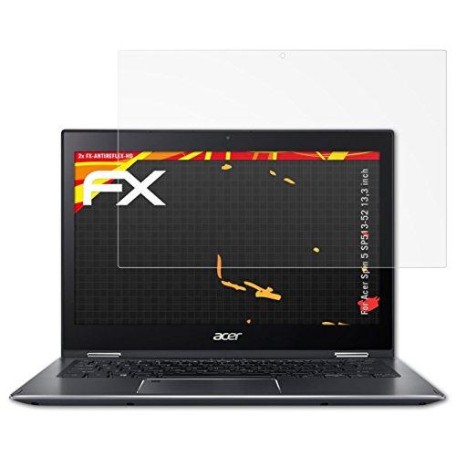 atFolix Schutzfolie kompatibel mit Acer Spin 5 SP513-52 13,3 inch Bildschirmschutzfolie, HD-Entspiegelung FX Folie (2X)