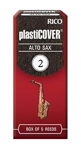 Rico Plasticover 2.0 Strength Reeds for Alto Sax (Pack of 5)