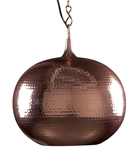 Zuiver 5300021 Pendant Lamp HAMMERED, rond, cuivre