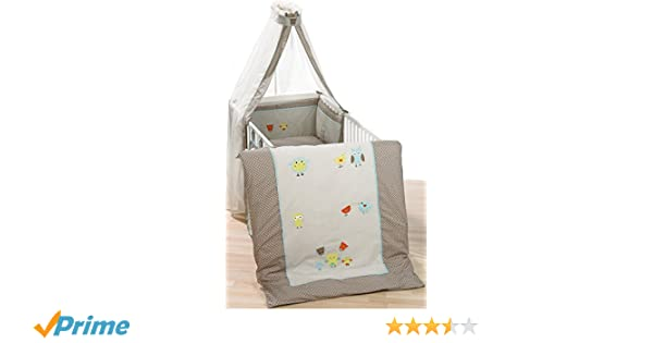 Alvi himmelset bettset mit applikation birds 416 6: amazon.de: baby
