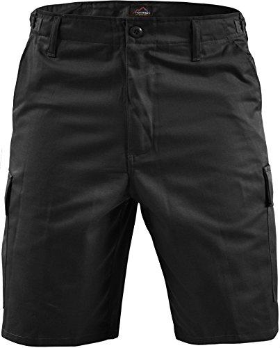 Army Jeans (normani Kurze Bermuda Shorts US Army Ranger Feldhose Arbeitshose S - XXXL Farbe Schwarz Größe 5XL)
