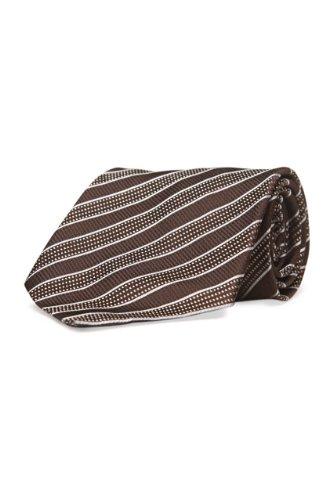 gianfranco-ferre-silk-tie-striped-color-dark-brown-size-one-size