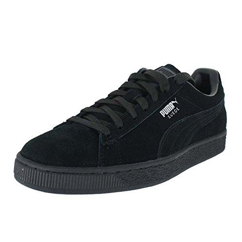 Puma suede classic 352634 sneaker uomo, nero (black/white 03), 44.5 eu (10 uk)