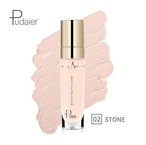 Anti-cernes, Malloom Concealer Oeil de visage Fondation Surligner le contour Stick liquide Maquillage Crème naturelle (02#)