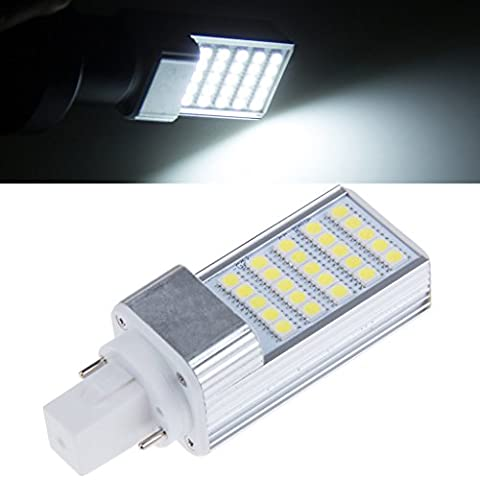 Bloomwin 10pcs/LED g24 lampada Corn light 5w