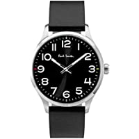 Paul Smith Men's Quartz Watch with Black Dial Analogue Display