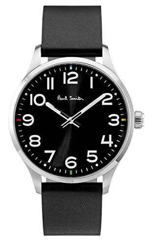 paul-smith-mens-quartz-watch-with-black-dial-analogue-display-and-black-leather-strap-p10061