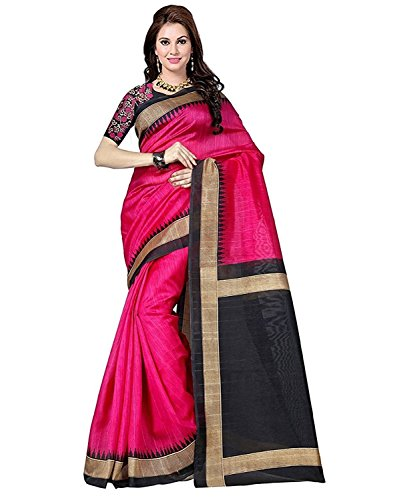 Saree( BuyOnn Saree For Women Party Wear Sarees Offer Designer Below 500 Rupees Latest Design Under 300 Combo Art Silk New Collection 2017 In Latest With Designer Blouse Beautiful For Women Party Wear Sadi Offer Sarees Collection Kanchipuram Bollywood Bhagalpuri Embroidered Free Size Georgette Sari Zari Work Marriage Wear Replica Sarees Wedding Casual Design With Blouse Material  available at amazon for Rs.349