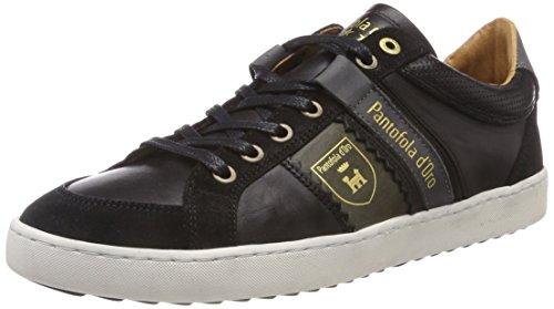 Pantofola d'Oro Savio Uomo Low, Sneaker, Nero (Black .25Y), 41 EU