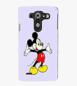 For LG G3 Mini Cartoon, Black, Cartoon and Animation, Printed Designer Back Case Cover By CHAPLOOS