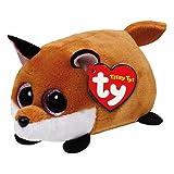 Ty - Teeny Tys - Finley la Volpe - Peluche Impilabile 6 cm