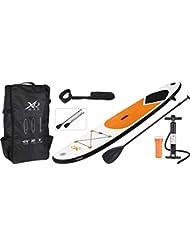 XQ Max SUP aufblasbares Stand Up Paddle Board Set 320 cm in Grau